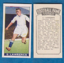 Swansea Town Syd Lawrence Wales